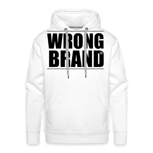 Wrong Brand: the ultimate brand parody - Men's Premium Hoodie