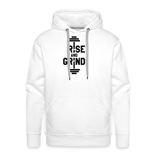 Rise and Grind - Premium hettegenser for menn