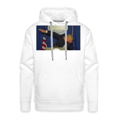 Presidential dab - Men's Premium Hoodie