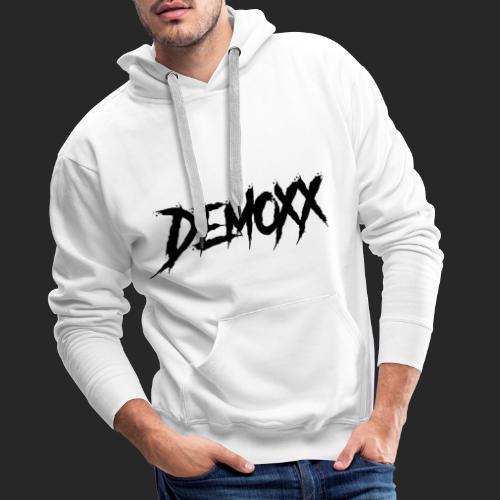 Demoxx Black Design - Sweat-shirt à capuche Premium pour hommes
