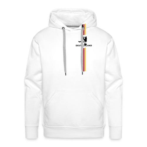 Handball Deutschland breit - Männer Premium Hoodie