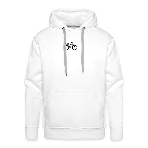 BCL Shirt Back White - Men's Premium Hoodie