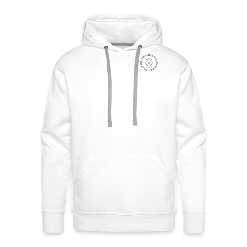 logo_6 - Herre Premium hættetrøje