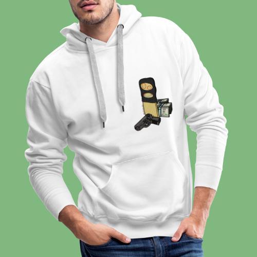 Tablon - Sudadera con capucha premium para hombre