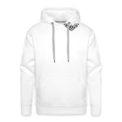 Clean Plain Logo - Men's Premium Hoodie