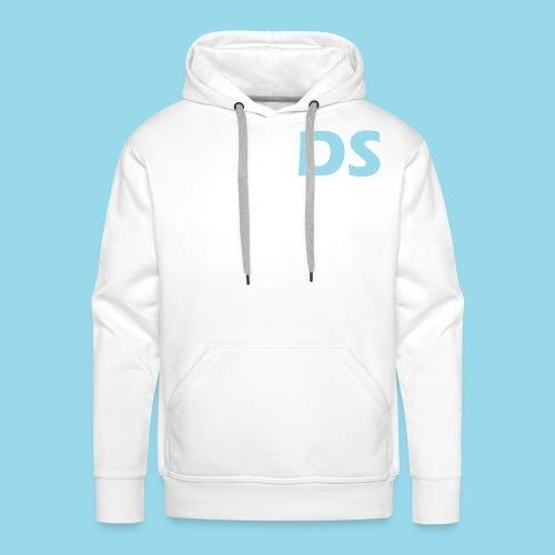 Drone Spotters logo blauw - Mannen Premium hoodie