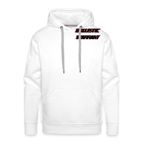 BallisticWarrrant - Mannen Premium hoodie