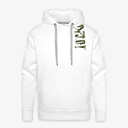 DEUH MILITAR v1 - Sweat-shirt à capuche Premium pour hommes