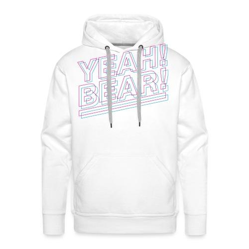 Yeah Bear Layers - Männer Premium Hoodie
