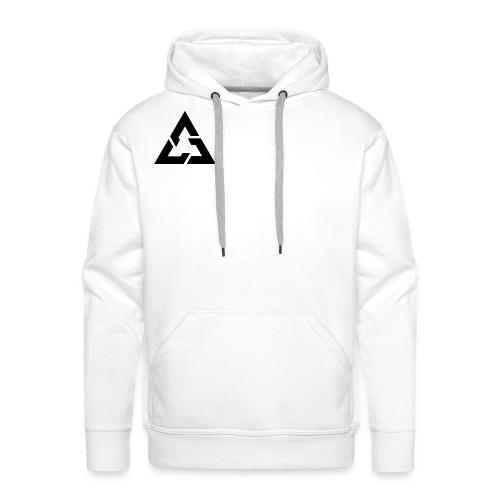 Angle Logo Brand - Felpa con cappuccio premium da uomo
