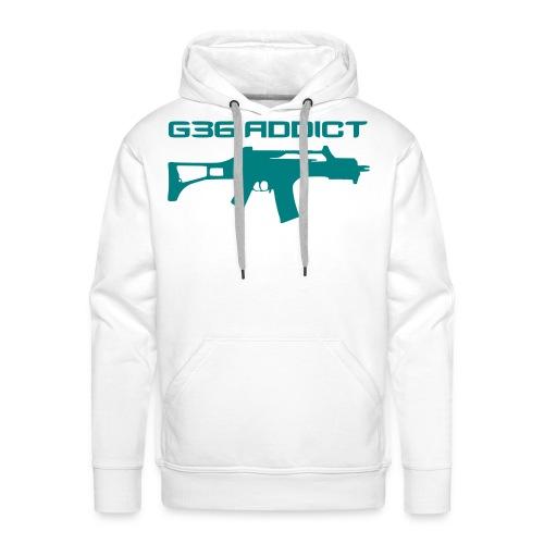G36 ADDICT - Sweat-shirt à capuche Premium pour hommes