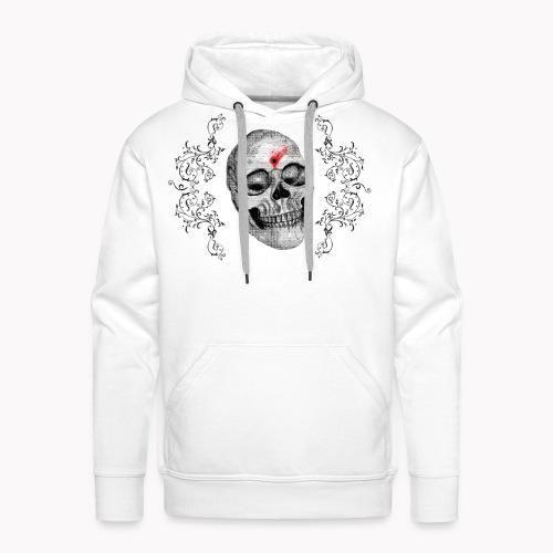 Skull One Bullet - Sweat-shirt à capuche Premium pour hommes