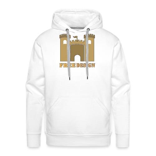 Castle - Sudadera con capucha premium para hombre