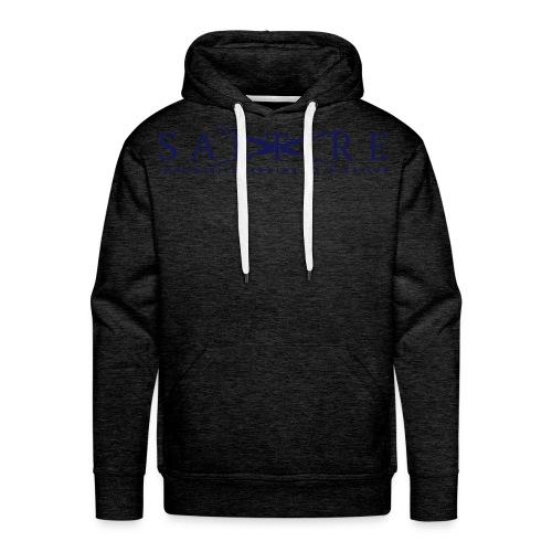 Saltire_Logo blue - Men's Premium Hoodie