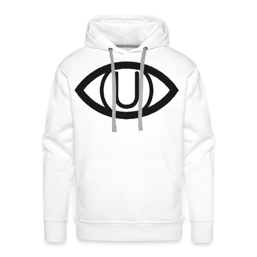 EYE SYMBOL BLACK - Men's Premium Hoodie
