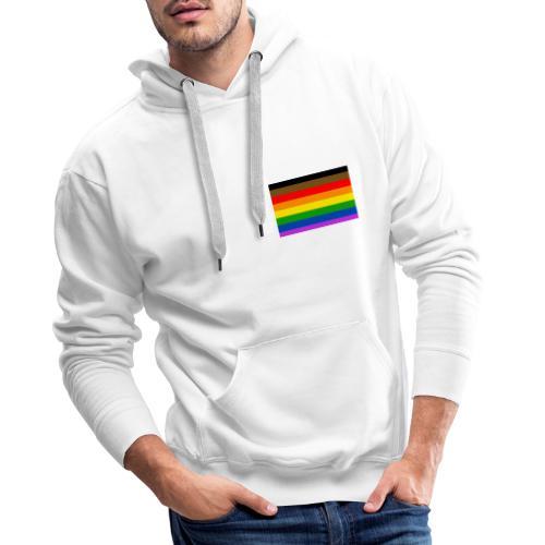 the parky lgbt shirt - Sweat-shirt à capuche Premium pour hommes
