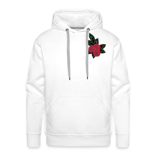 fleur du mal color - Sweat-shirt à capuche Premium pour hommes