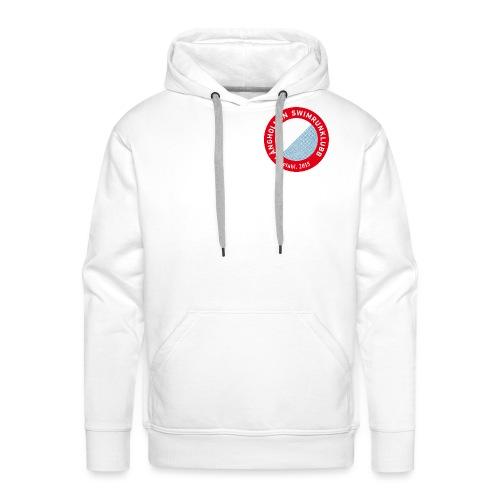 L ngholmen Swimrun Logo Vintage Trans png - Premiumluvtröja herr