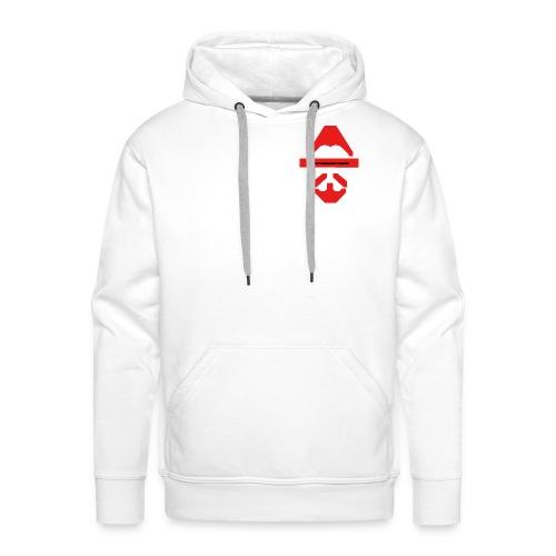 Biturzartmon Logo rot glatt - Männer Premium Hoodie