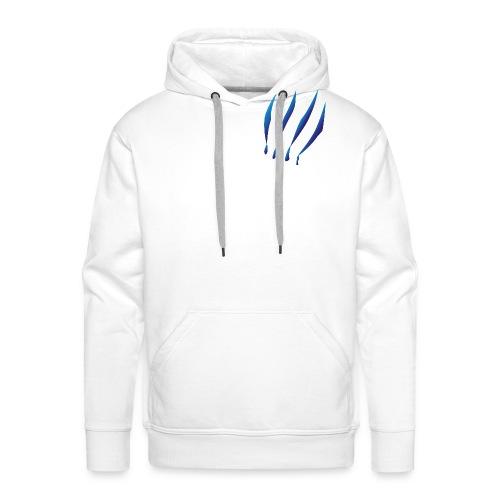Principe azul malherido - Sudadera con capucha premium para hombre