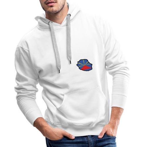 Drapeau Lo Mahaveli - Sweat-shirt à capuche Premium pour hommes