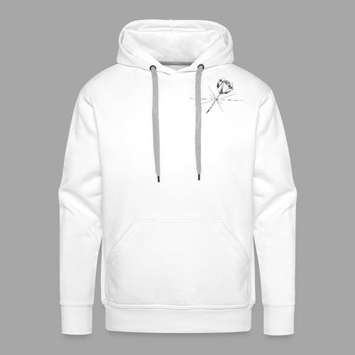 Histoire éternelle - La valse à mille points - Sweat-shirt à capuche Premium pour hommes