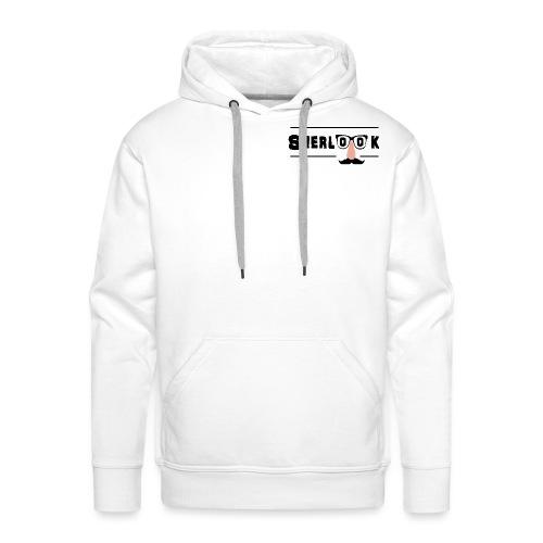 Sherlook - Sweat-shirt à capuche Premium pour hommes