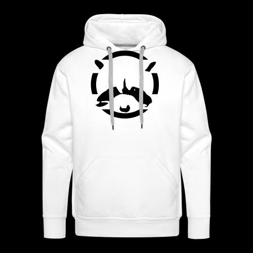 Racoon 2 - Sweat-shirt à capuche Premium pour hommes