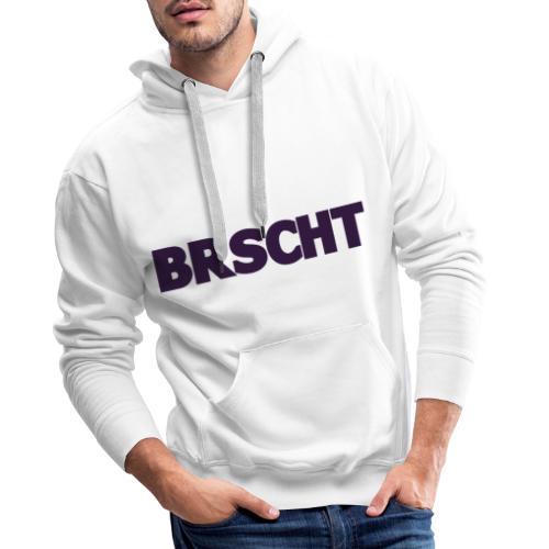 BRSCHT Donker Paars - Sweat-shirt à capuche Premium pour hommes