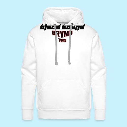 Blood Bound - BRVMS - Paris - Sweat-shirt à capuche Premium pour hommes