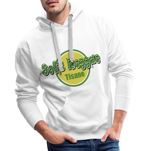 soft reggae tisane (fort contraste) - Sweat-shirt à capuche Premium pour hommes