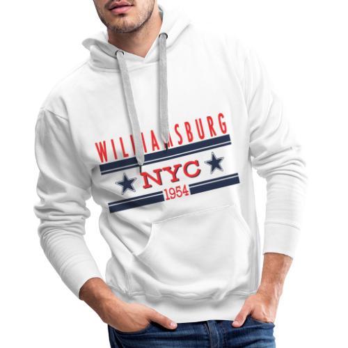 Williamsburg Hipster - Männer Premium Hoodie