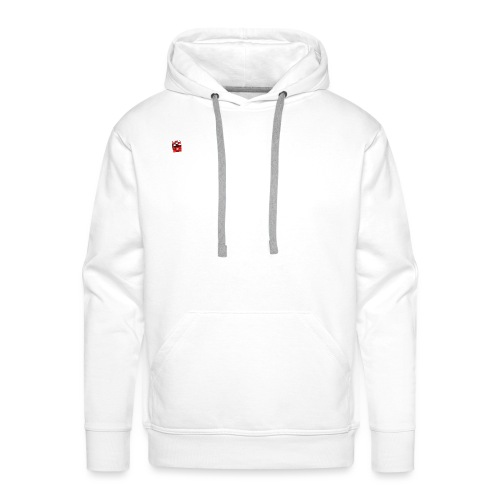 Würfel Rot - Männer Premium Hoodie