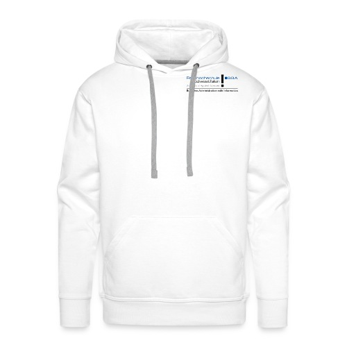 BBA reines Logo lang png - Men's Premium Hoodie