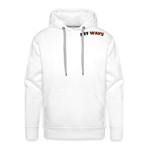 OFF Wavy - Mannen Premium hoodie