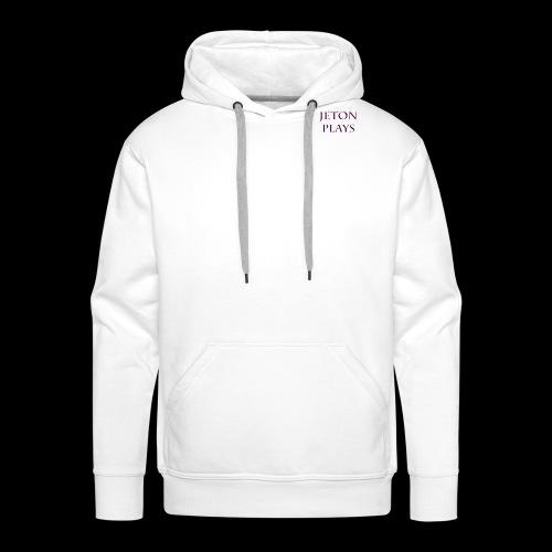 JetonPlays - Mannen Premium hoodie