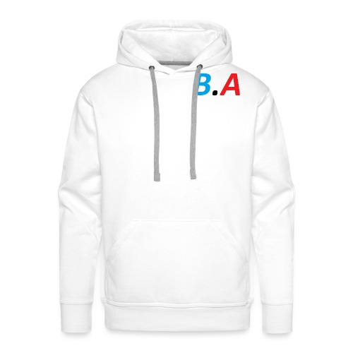 Officiele B.A merch - Mannen Premium hoodie