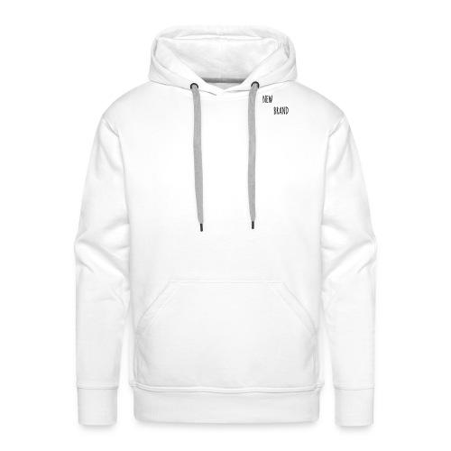 white NEW BRAND - Men's Premium Hoodie