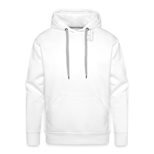 chilled no dramas - Men's Premium Hoodie