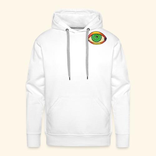 Oeil étoile 2 - Sweat-shirt à capuche Premium pour hommes