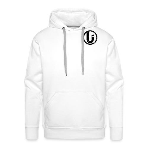 Unicode Grunge Logo - Sweat-shirt à capuche Premium pour hommes