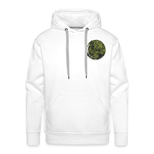 OTENTIK Cocotier coeur - Sweat-shirt à capuche Premium pour hommes