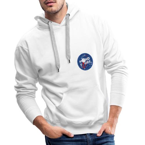 Mondfähre Patch - Männer Premium Hoodie