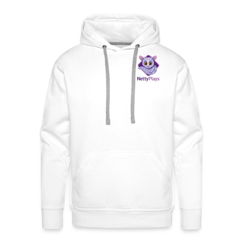 Netty Logotype png - Men's Premium Hoodie