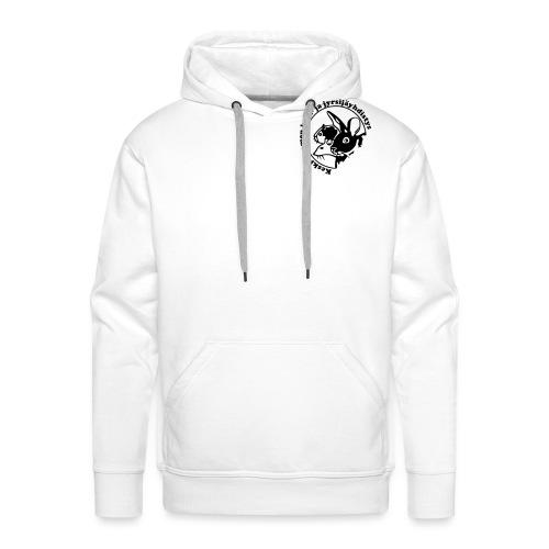 KSKJY logo - musta - Miesten premium-huppari