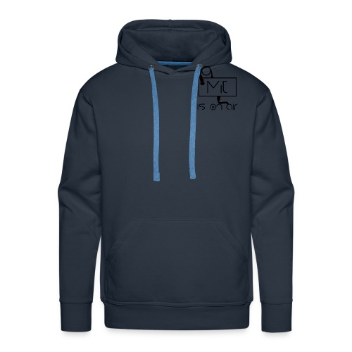 Logo 1 png - Sweat-shirt à capuche Premium pour hommes