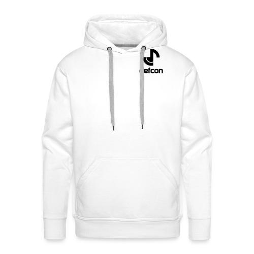 defcon logo and text vector2 - Men's Premium Hoodie