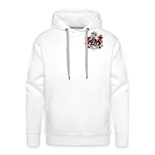 Wappen Löwe weiß - Männer Premium Hoodie