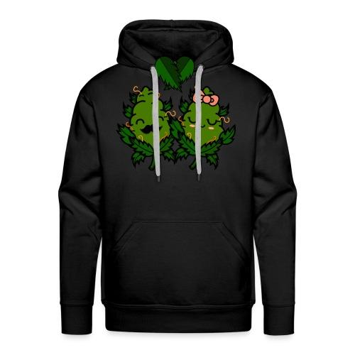 Mr & Ms Weed Nug - Sudadera con capucha premium para hombre