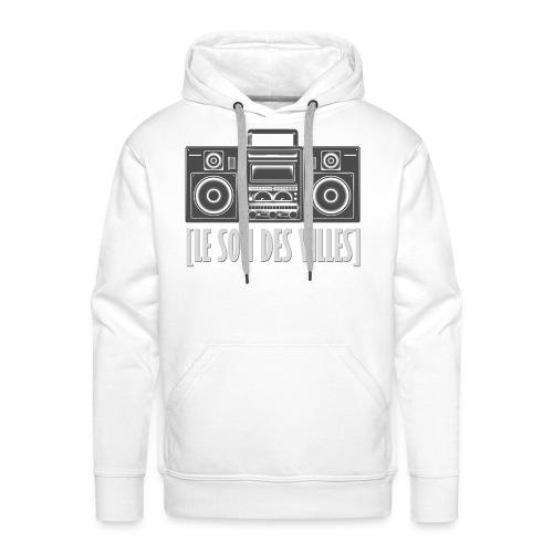Ghetto blaster by LSDV - Sweat-shirt à capuche Premium pour hommes